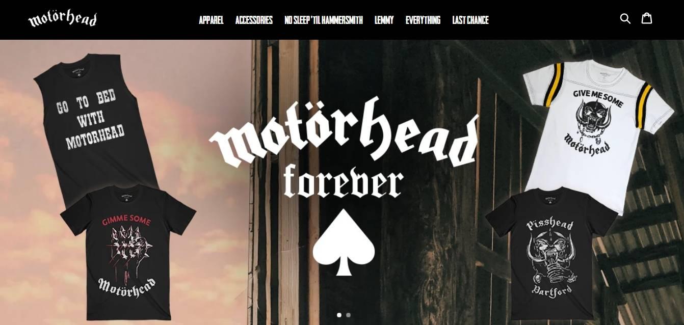 Motorhead Store