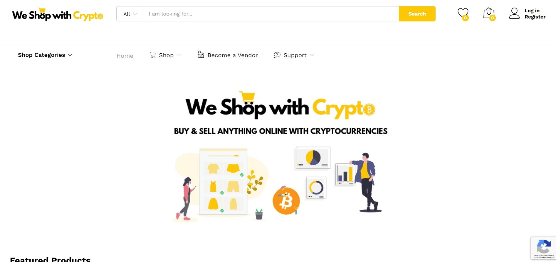 We Shop with Crypto