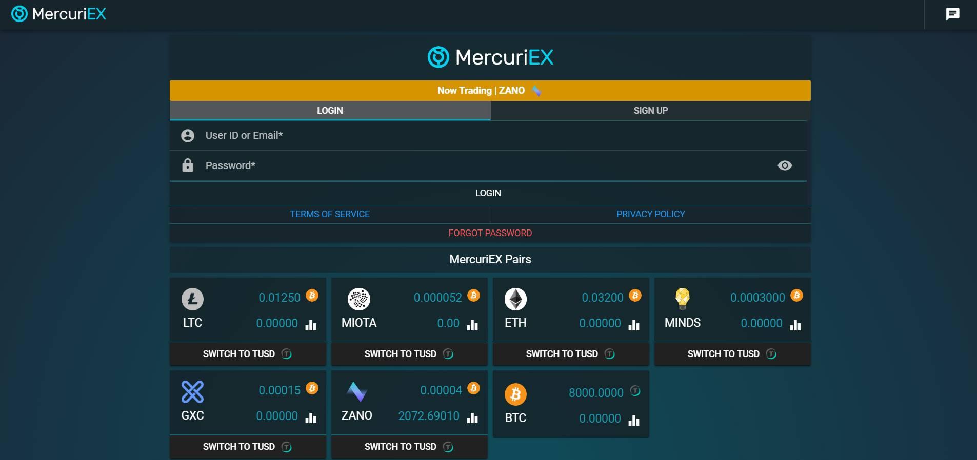 MercuriEX