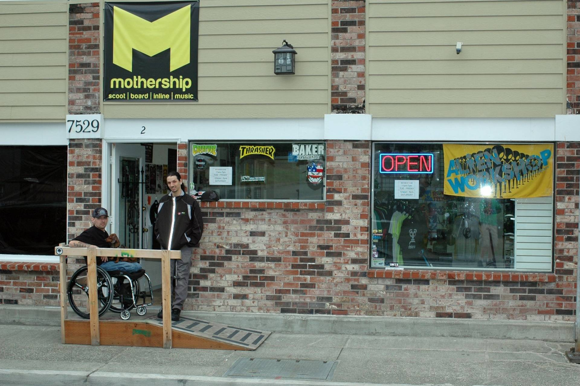 Mothership Pro Scooters