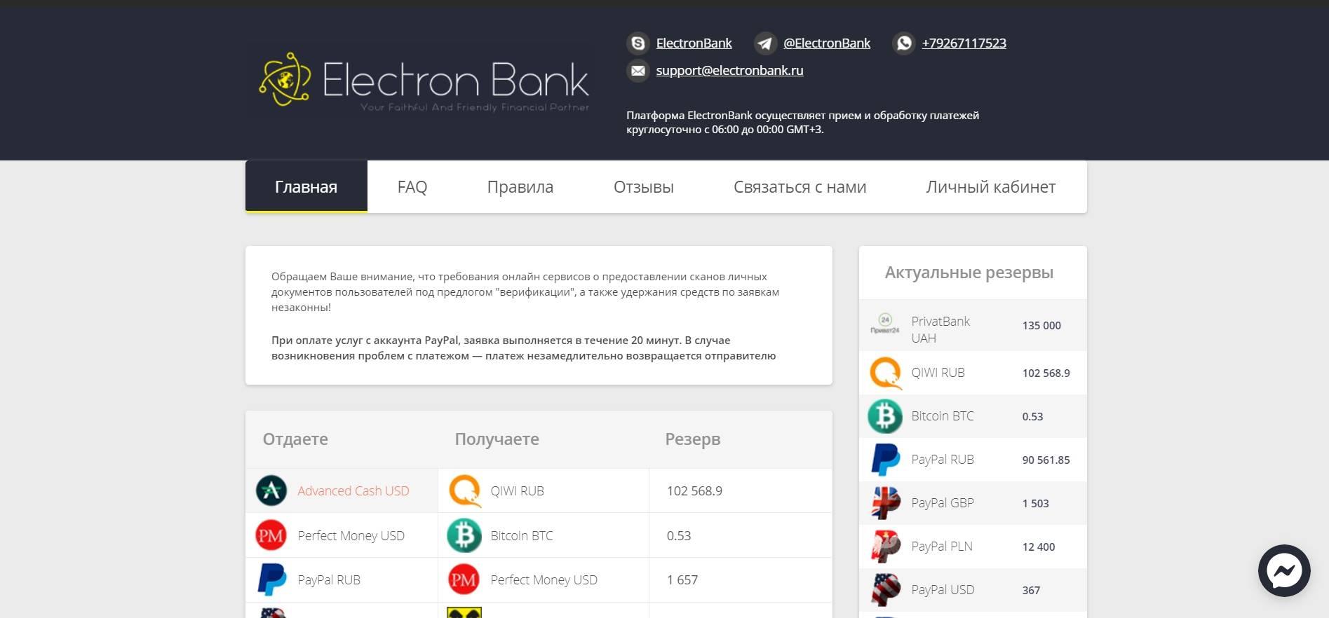 ElectronBank