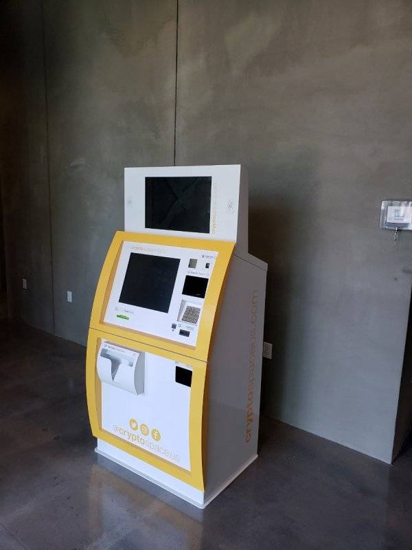 Cryptocurrency ATM Cryptospace