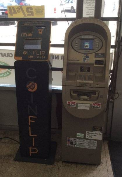 Cryptocurrency ATM CoinFlip