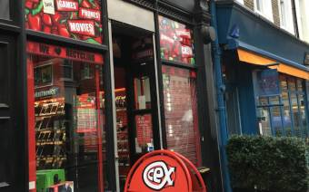 CeX London W1 Rathbone Place
