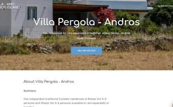 Villa Pergola - Andros