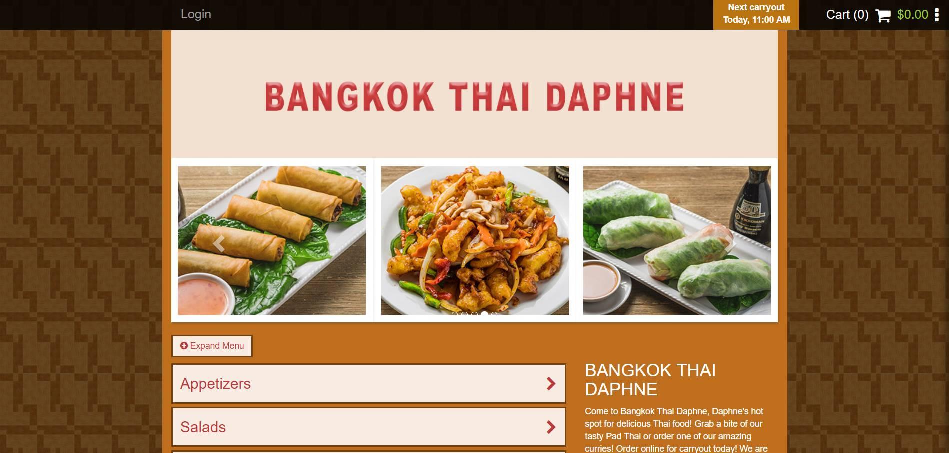 Bangkok Thai Daphne