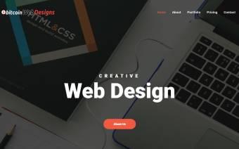 Bitcoin Web Designs