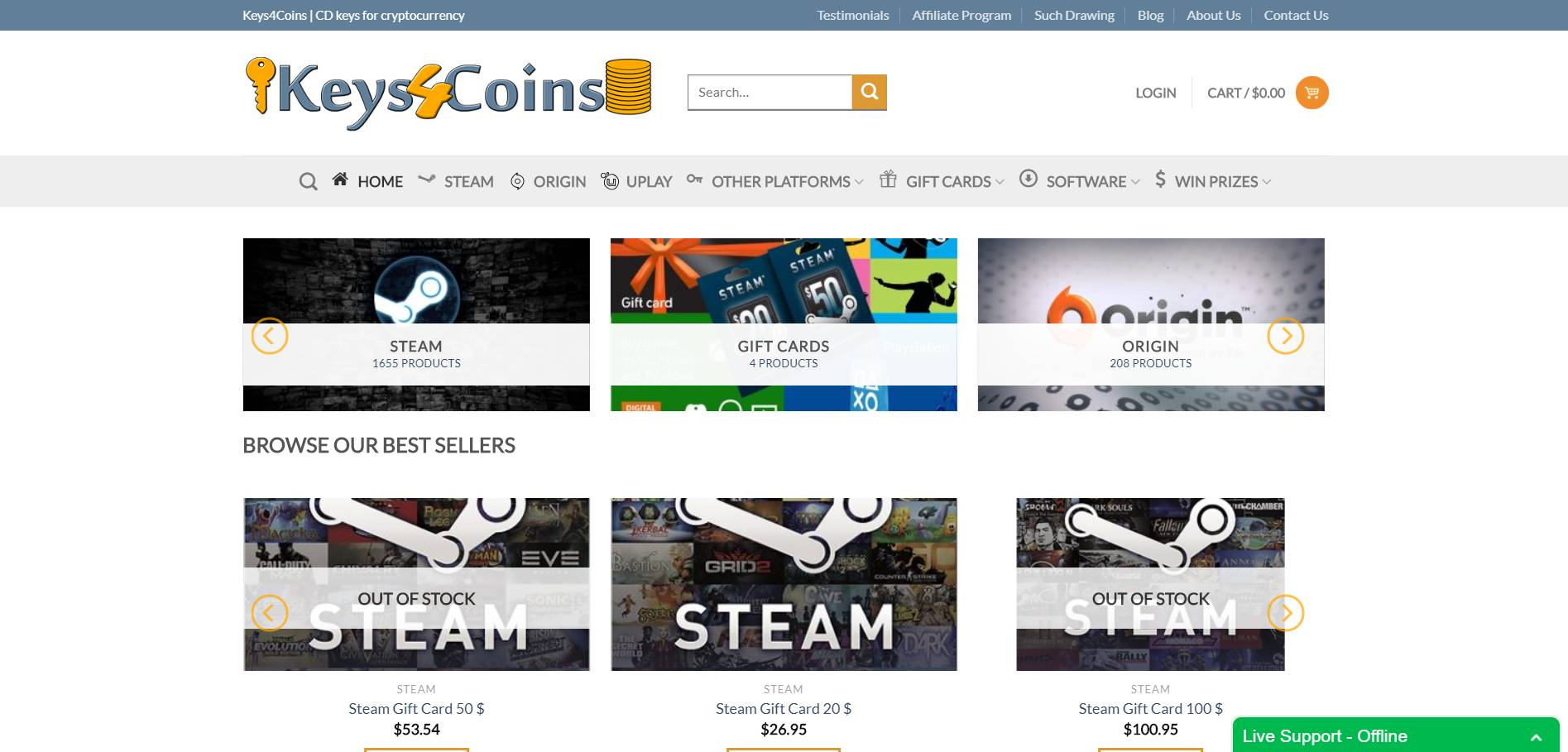 Keys4Coins