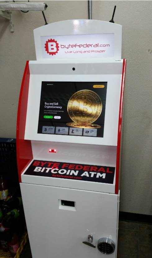 Cryptocurrency ATM Bytefederal