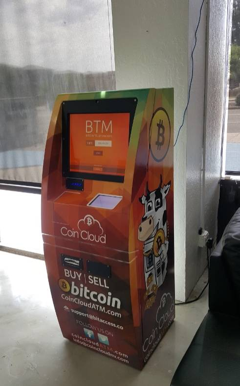 Cryptocurrency ATM CoinCloud