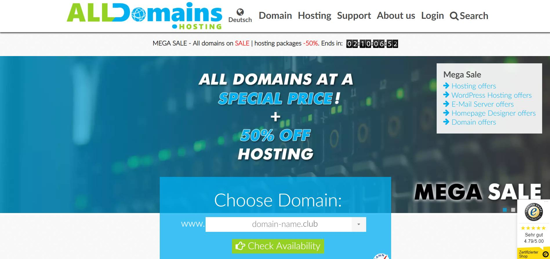 All Domains