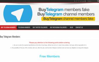 Buy Telegram Members
