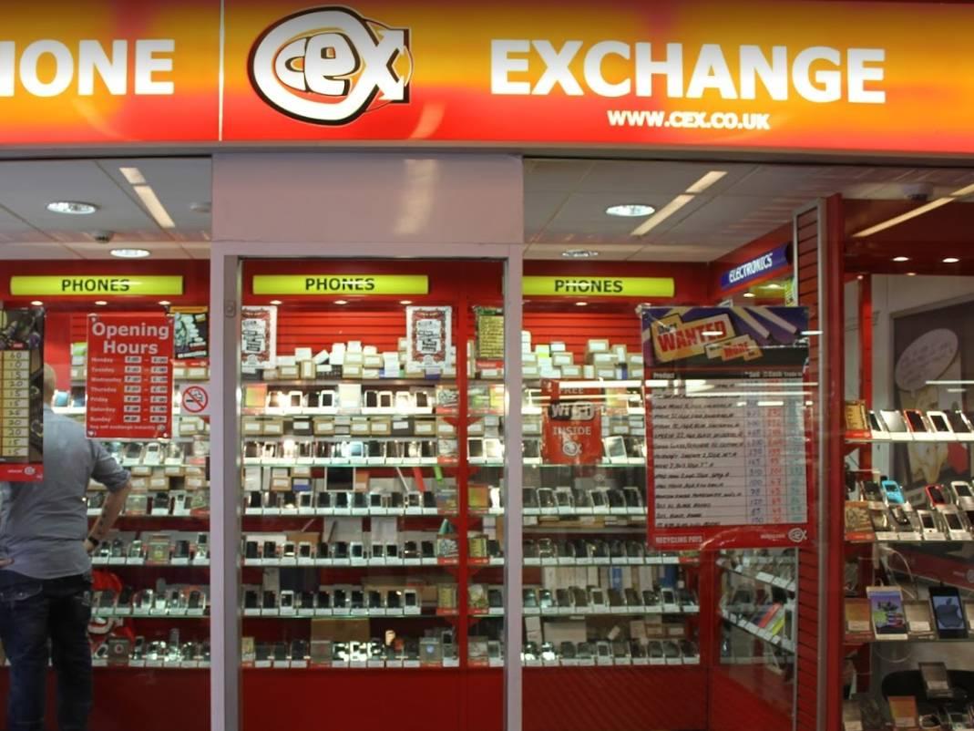 CeX Derby Phone Exchange