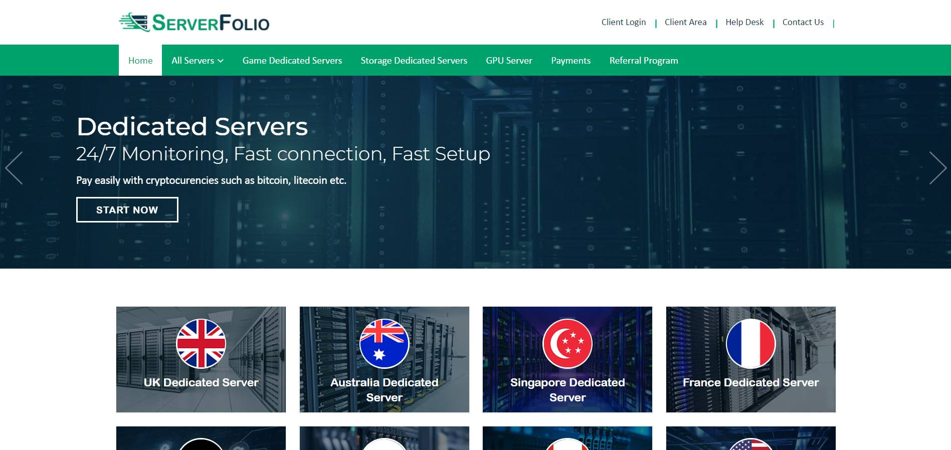 ServerFolio
