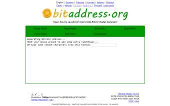 BitAddress