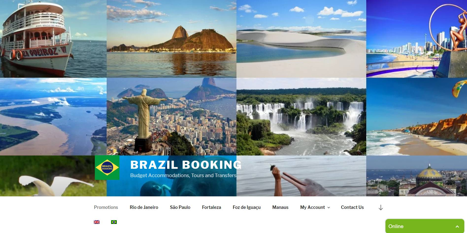 Brazil Booking Germany