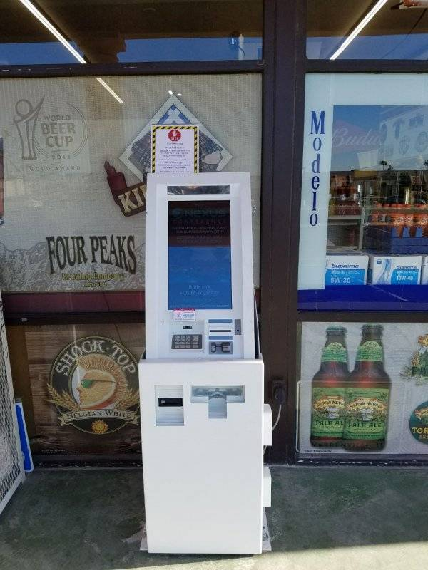 Cryptocurrency ATM Phoenix Crypto
