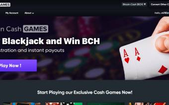 Bitcoin Cash Games
