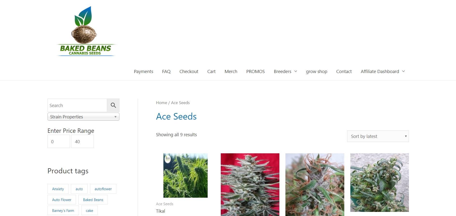 Baked Beans Cannabis Seeds