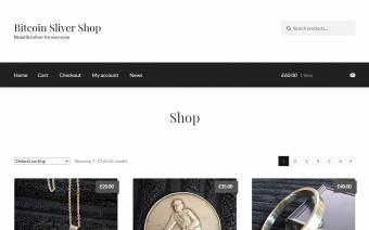 Bitcoin Sliver Shop