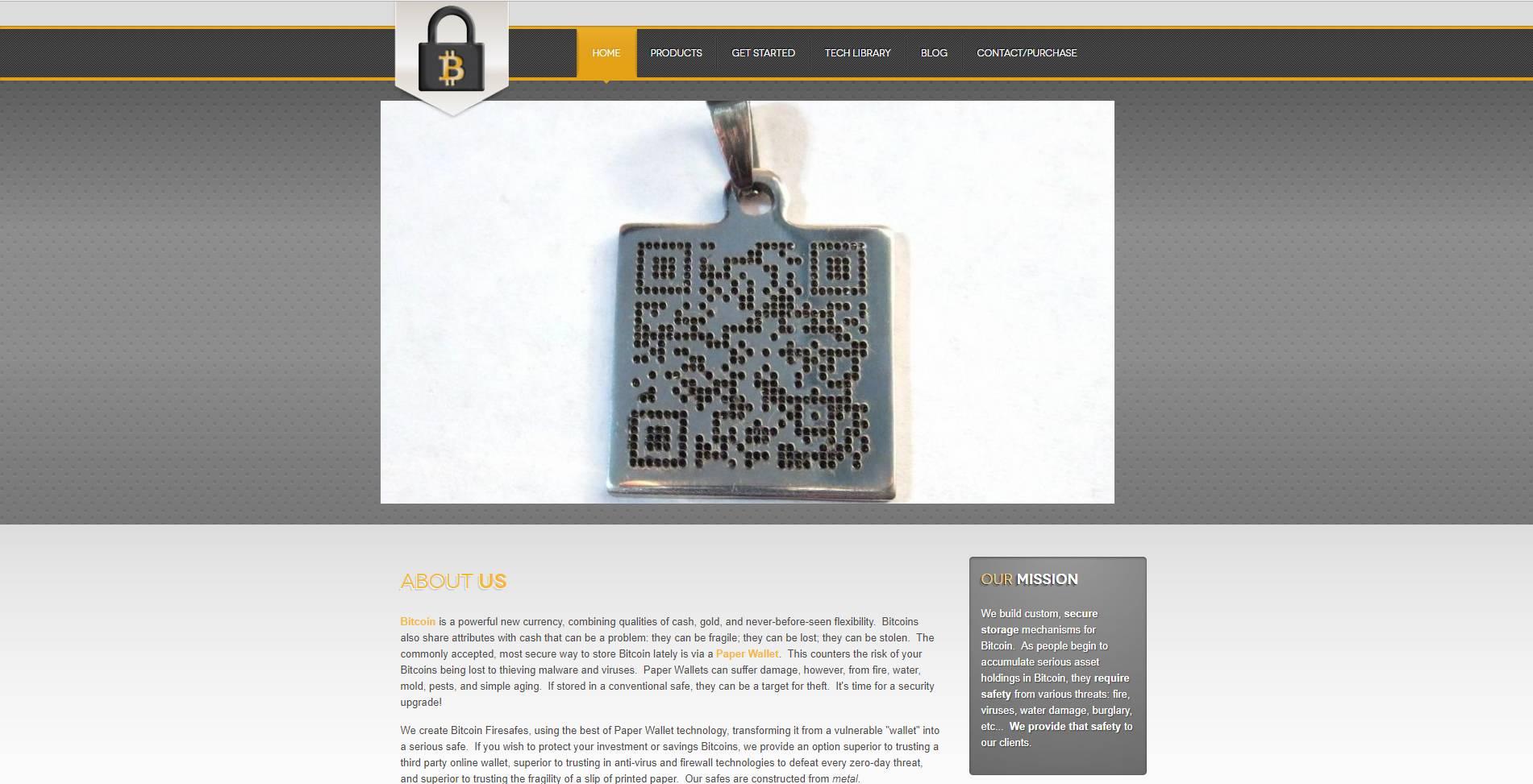 Bitcoin Firesafe