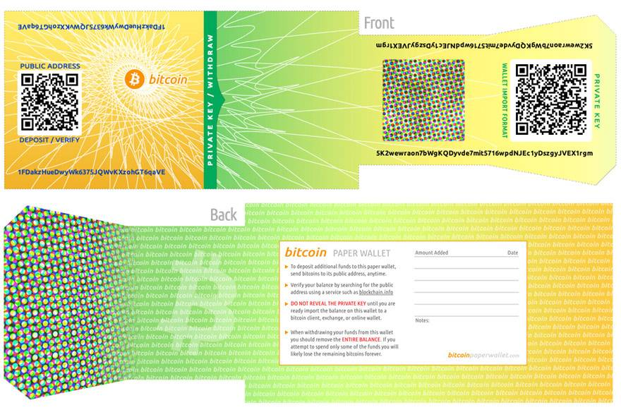 BitcoinPaperWallet