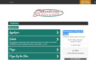 Salvatore's Pizza & Pasta